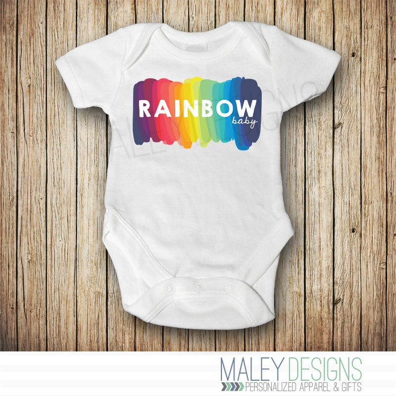 Rainbow Baby Announcement Rainbow Baby Shower Gift Rainbow – Etsy Baby Announcements