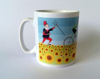 Tour de France Cycling Mug