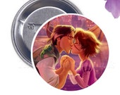 Tangled Kiss - Your Choice of 2-1/4 inch Button Product Accessory