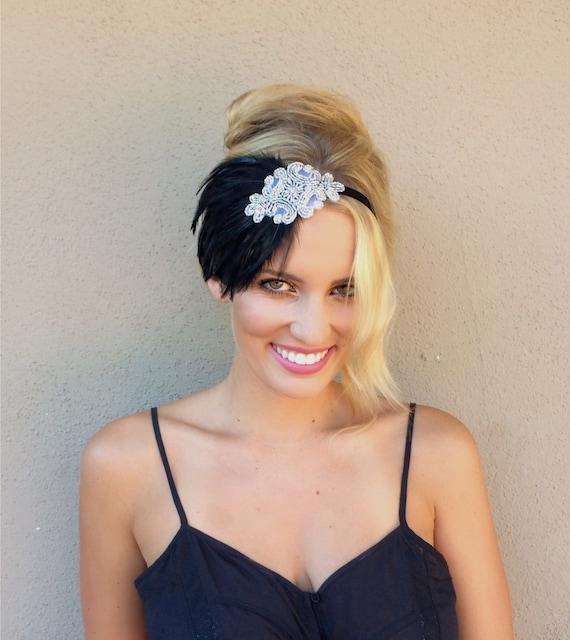 1920s Headpiece Gatsby Headband Flapper Dress Flapper
