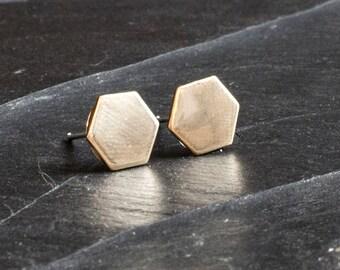 Geometric Octagon earrings