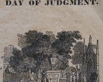 1820s Religious Pamphet - Day of Judgment