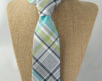 Men's Chicago Bears Skinny Plaid Tie