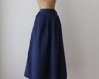 50% OFF Wrangler Denim Maxi Skirt ||  Prairie Folk  || Women Size Small