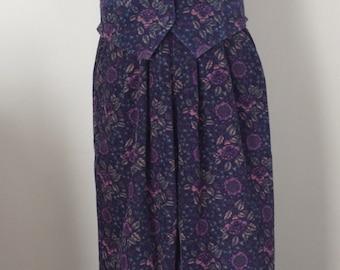 All pants, Laura Ashley vintage year 80, liberty velvet vest