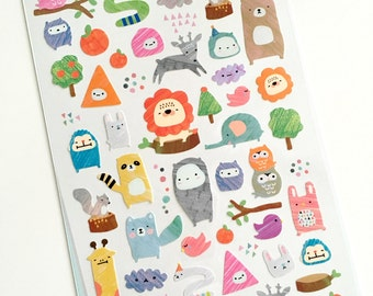 Sketchbook Doodles Stickers // Planner Stickers // Scrapbooking embellishment // DIY essentials