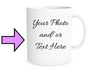 Photo mug, custom coffee mug, boyfriend gift, girlfriend gift, best friend gift, personalized mug, funny mugs, birthday gift, special gift