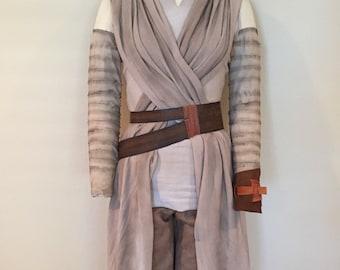 Custom Rey Star Wars The Force Awakens Belt & Cuff Costume Accessories