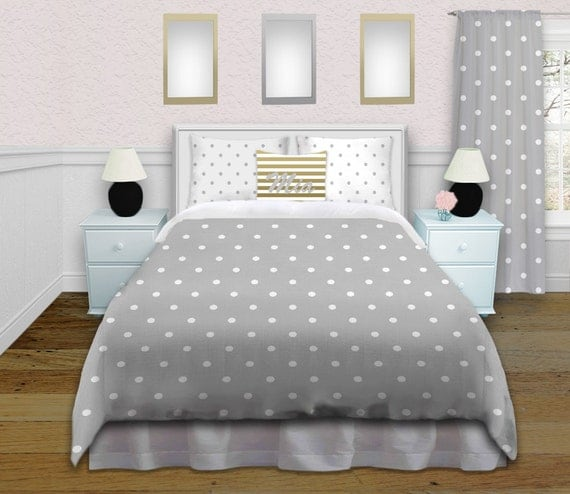 gold bedding grey and white duvet cover by eloquentinnovations. Black Bedroom Furniture Sets. Home Design Ideas