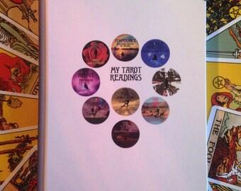 Tarot Reading Journal A5 Notebook