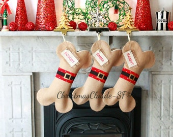 Personalized Christmas Stocking, Unique holiday Gifts, Best Gifts Ideas, Gifts for Pet Lovers, Pet Gifts, Cool and Beautiful!