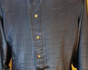 FREE  SHIPPING   Vintage Givenchy Men Shirt