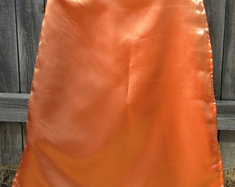 Orange and Green Reversible Cape