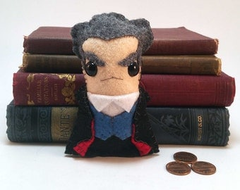 12th Doctor - Peter Capaldi - Dr Who plushie