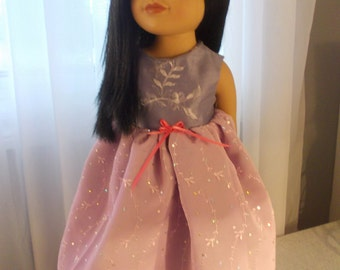 americangirl,journeygirl,party dress, doll 18 inches