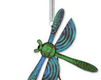 Dragonfly Bouncy, Plant Decor, Garden Art