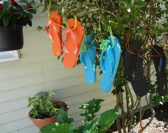 Set of THREE (3) FLIP FLOP Hangers