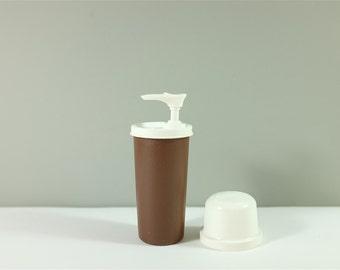 Vintage Tupperware sauce dispenser - Tupperware mustard dispenser - Tupperware ketchup dispenser - Tupperware dispenser 1329-16