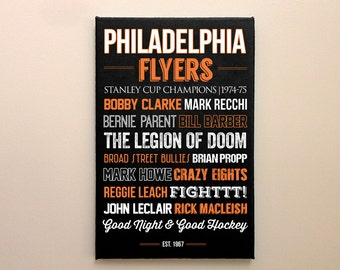 Philadelphia Flyers Art - Canvas or Poster