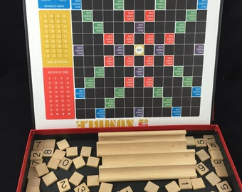 Vintage Numble Game From Selchow and Righter, 1968