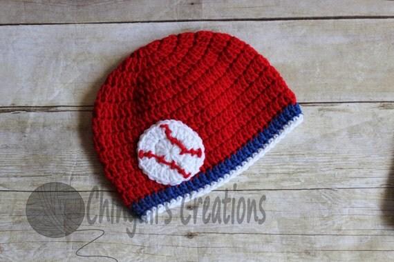 baby baseball hat baby crochet hat chicago cubs toronto blue