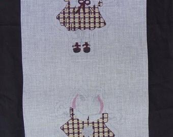TS Needlepoint Canvas Bunny Rabbit  FREE Shipping USA