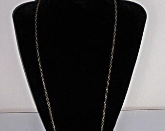 "24"" Antique Bronze jewelry chain 24 inch antique bronze necklace Jewelry supply supplies"