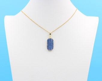 Kyanite Necklaces -- Wholesale Charms Kyanite Jewelry Gemstone DJ