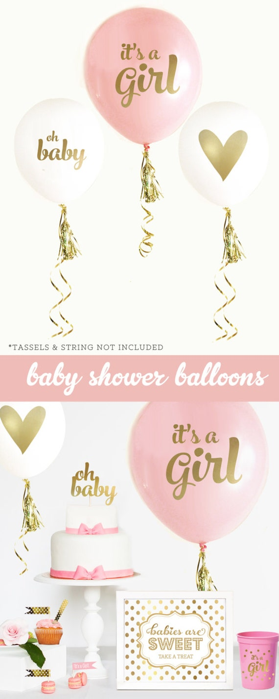 Baby Gift Gold : Girl baby shower gift new its a