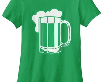 Green Beer for St Patricks Day Women's T-shirt