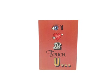 1980s Greeting Card, Unused, Teasing, Funny, Flirty, American Greeting Cards, Vintage Retro