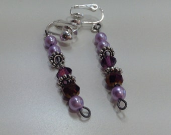 Lavender Blossom (earrings)