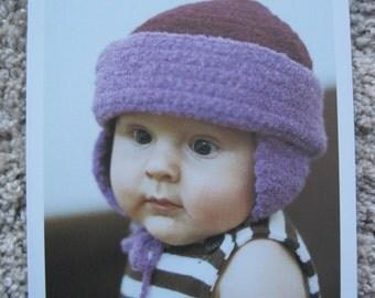 Crochet Pattern - Baby Hat - Sizes Newborn to 12 months