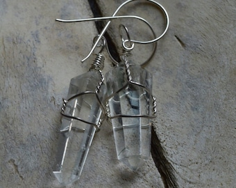 Crystal Quartz Earrings