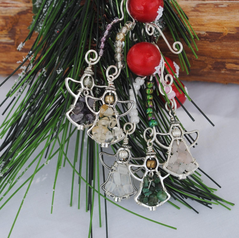 ornament set gemstone ornaments by