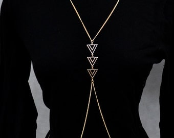 Faux Gold Body Chain
