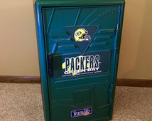 1993 Green Bay Packers 24-inch locker by Suncast with YOUR custom name on sticker