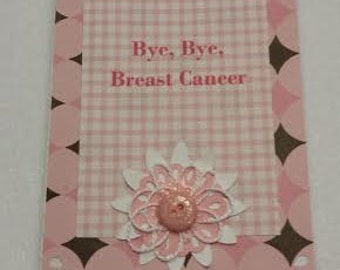 Hand made Cancer Caring Card