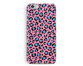 BRIGHT PINK iPhone 5c Case, Girly iPhone 5c case, pink iphone 5c cover, leopard skin iphone 5c case, zebra print case, hipster iphone case