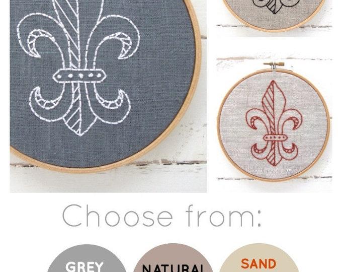 Fleur De Lis Embroidery Kit {basic}