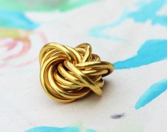 Möbii Gold: Fidget, Stim Toy, Golden Snitch, Office Stress Ball, Restless Hands Toy