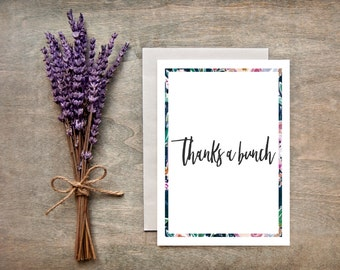 Thank-You Card/Thanks, Greeting Card