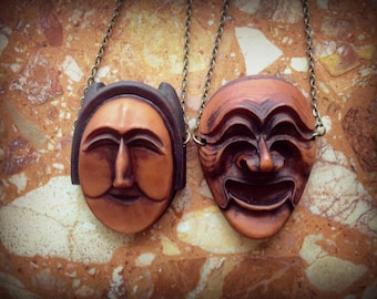 Necklace: Traditional Korean Mask