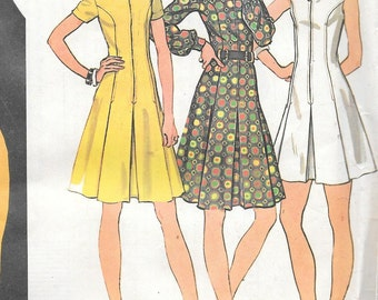 Vintage 1970s McCall's Sewing Pattern 3610- Misses' Dress size 18 Bust 40 uncut