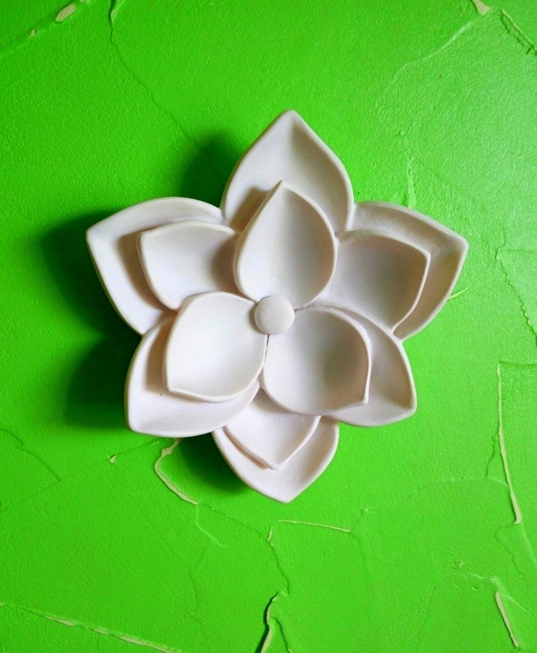 Yoga Decor Wall Flowers Housewarming Gift Decoration