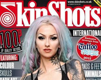 MAGAZINE: Signed by Shelly d'Inferno, Skin Shots Magazine #97