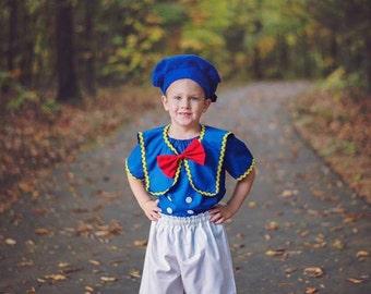 Donald Duck inspired costume
