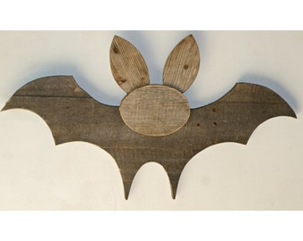 Halloween Bat - Reclaimed Pallet Wood