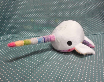 Rainbow Narwhal Plush