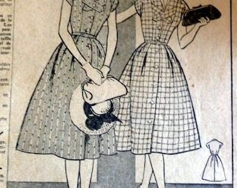 1958 DRESS PATTERN